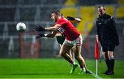 8 November 2020; Brian Hurley of Cork in action against Ronan Buckley of Kerry during the Munster GAA Football Senior Championship Semi-Final match between Cork and Kerry at Páirc Uí Chaoimh in Cork. Photo by Brendan Moran/Sportsfile