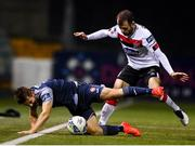 9 November 2020; Regan Donelon of Sligo Rovers is tackled by Stefan Colovic of Dundalk during the SSE Airtricity League Premier Division match between Dundalk and Sligo Rovers at Oriel Park in Dundalk, Louth. Photo by Sam Barnes/Sportsfile