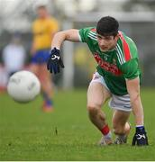 8 November 2020; Conor Loftus of Mayo during the Connacht GAA Football Senior Championship Semi-Final match between Roscommon and Mayo at Dr Hyde Park in Roscommon. Photo by Ramsey Cardy/Sportsfile