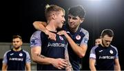 9 November 2020; Darragh Noone, right, and Jesse Devers of Sligo Rovers leave the field following their sides victory in the SSE Airtricity League Premier Division match between Dundalk and Sligo Rovers at Oriel Park in Dundalk, Louth. Photo by Sam Barnes/Sportsfile