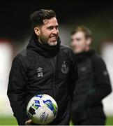 9 November 2020; Shamrock Rovers manager Stephen Bradley during the SSE Airtricity League Premier Division match between Shelbourne and Shamrock Rovers at Tolka Park in Dublin. Photo by Seb Daly/Sportsfile