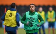 10 November 2020; Adam Idah during a Republic of Ireland training session at The Hive in London, England. Photo by Stephen McCarthy/Sportsfile