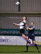 9 November 2020; Sean Murray of Dundalk in action against Garry Buckley of Sligo Rovers during the SSE Airtricity League Premier Division match between Dundalk and Sligo Rovers at Oriel Park in Dundalk, Louth. Photo by Sam Barnes/Sportsfile
