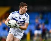 8 November 2020; Evan O'Carroll of Laois during the Leinster GAA Football Senior Championship Quarter-Final match between Longford and Laois at Glennon Brothers Pearse Park in Longford. Photo by Ray McManus/Sportsfile