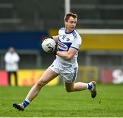 8 November 2020; Paul Kingston of Laois during the Leinster GAA Football Senior Championship Quarter-Final match between Longford and Laois at Glennon Brothers Pearse Park in Longford. Photo by Ray McManus/Sportsfile