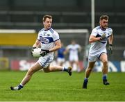 8 November 2020; Paul Kingston, left, and Eoin Lowry of Laois during the Leinster GAA Football Senior Championship Quarter-Final match between Longford and Laois at Glennon Brothers Pearse Park in Longford. Photo by Ray McManus/Sportsfile