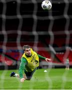 11 November 2020; Seamus Coleman during a Republic of Ireland training session at Wembley Stadium in London, England. Photo by Stephen McCarthy/Sportsfile