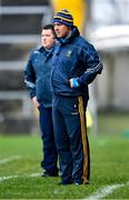 7 November 2020; Tipperary coach Joe Hayes, front, with manager David Power during the Munster GAA Football Senior Championship Semi-Final match between Limerick and Tipperary at LIT Gaelic Grounds in Limerick. Photo by Piaras Ó Mídheach/Sportsfile