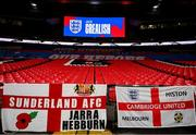 12 November 2020; A general view of Wembley Stadium ahead of the International Friendly match between England and Republic of Ireland at Wembley Stadium in London, England. Photo by Stephen McCarthy/Sportsfile