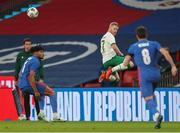 12 November 2020; Daryl Horgan of Republic of Ireland keeps the ball in play during the International Friendly match between England and Republic of Ireland at Wembley Stadium in London, England. Photo by Matt Impey/Sportsfile