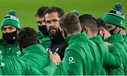 13 November 2020; Ireland head coach Andy Farrell ahead of the Autumn Nations Cup match between Ireland and Wales at Aviva Stadium in Dublin. Photo by Ramsey Cardy/Sportsfile