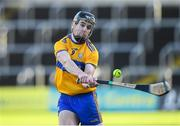 14 November 2020; Tony Kelly of Clare scores from a free against Wexford during the GAA Hurling All-Ireland Senior Championship Qualifier Round 2 match between Wexford and Clare at MW Hire O'Moore Park in Portlaoise, Laois. Photo by Matt Browne/Sportsfile