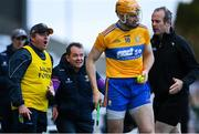 14 November 2020; Wexford manager Davy Fitzgerald and his selector Seoirse Bulfin, left, question linesman Johnny Murphy about a sideline ball being awarded to Clare in the second half during the GAA Hurling All-Ireland Senior Championship Qualifier Round 2 match between Wexford and Clare at MW Hire O'Moore Park in Portlaoise, Laois. Photo by Piaras Ó Mídheach/Sportsfile