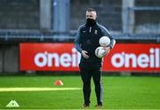 14 November 2020; Mayo manager Peter Leahy ahead of the TG4 All-Ireland Senior Ladies Football Championship Round 3 match between Armagh and Mayo at Parnell Park in Dublin. Photo by Sam Barnes/Sportsfile