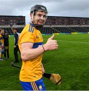 14 November 2020; Tony Kelly of Clare celebrates after the GAA Hurling All-Ireland Senior Championship Qualifier Round 2 match between Wexford and Clare at MW Hire O'Moore Park in Portlaoise, Laois. Photo by Matt Browne/Sportsfile