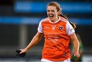 14 November 2020; Aveen Bellew of Armagh celebrates at the final whistle following the TG4 All-Ireland Senior Ladies Football Championship Round 3 match between Armagh and Mayo at Parnell Park in Dublin. Photo by Sam Barnes/Sportsfile