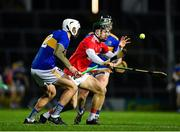 14 November 2020; Mark Coleman of Cork in action against Patrick Maher of Tipperary during the GAA Hurling All-Ireland Senior Championship Qualifier Round 2 match between Cork and Tipperary at LIT Gaelic Grounds in Limerick. Photo by Daire Brennan/Sportsfile