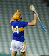 14 November 2020; Séamus Callanan of Tipperary celebrates at the end of the GAA Hurling All-Ireland Senior Championship Qualifier Round 2 match between Cork and Tipperary at LIT Gaelic Grounds in Limerick. Photo by Daire Brennan/Sportsfile