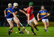 14 November 2020; Séamus Harnedy of Cork in action against Brendan Maher of Tipperary during the GAA Hurling All-Ireland Senior Championship Qualifier Round 2 match between Cork and Tipperary at LIT Gaelic Grounds in Limerick. Photo by Brendan Moran/Sportsfile