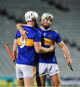 14 November 2020; Michael Breen, left, and Brendan Maher of Tipperary celebrate after the GAA Hurling All-Ireland Senior Championship Qualifier Round 2 match between Cork and Tipperary at LIT Gaelic Grounds in Limerick. Photo by Daire Brennan/Sportsfile