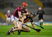 14 November 2020; Conor Delaney of Kilkenny in action against Conor Whelan of Galway during the Leinster GAA Hurling Senior Championship Final match between Kilkenny and Galway at Croke Park in Dublin. Photo by Seb Daly/Sportsfile