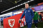 14 November 2020; Republic of Ireland manager Stephen Kenny during a Republic of Ireland training session at Cardiff City Stadium in Cardiff, Wales. Photo by Stephen McCarthy/Sportsfile