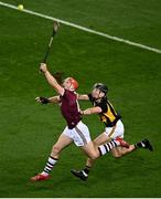 14 November 2020; Conor Whelan of Galway in action against Conor Delaney of Kilkenny during the Leinster GAA Hurling Senior Championship Final match between Kilkenny and Galway at Croke Park in Dublin. Photo by Harry Murphy/Sportsfile