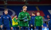 14 November 2020; Caoimhin Kelleher during a Republic of Ireland training session at Cardiff City Stadium in Cardiff, Wales. Photo by Stephen McCarthy/Sportsfile