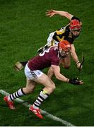 14 November 2020; Conor Whelan of Galway in action against Cillian Buckley of Kilkenny during the Leinster GAA Hurling Senior Championship Final match between Kilkenny and Galway at Croke Park in Dublin. Photo by Harry Murphy/Sportsfile