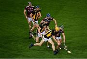 14 November 2020; Colin Fennelly of Kilkenny in action against Fintan Burke of Galway during the Leinster GAA Hurling Senior Championship Final match between Kilkenny and Galway at Croke Park in Dublin. Photo by Harry Murphy/Sportsfile