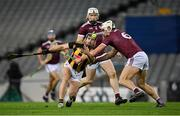 14 November 2020; Richie Hogan of Kilkenny in action against Gearóid McInerney of Galway during the Leinster GAA Hurling Senior Championship Final match between Kilkenny and Galway at Croke Park in Dublin. Photo by Seb Daly/Sportsfile