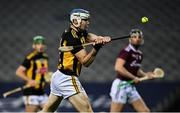 14 November 2020; TJ Reid of Kilkenny shoots to score his side's second goal during the Leinster GAA Hurling Senior Championship Final match between Kilkenny and Galway at Croke Park in Dublin. Photo by Seb Daly/Sportsfile