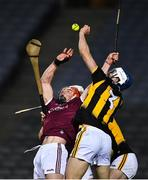 14 November 2020; Huw Lawlor of Kilkenny in action against Conor Whelan of Galway during the Leinster GAA Hurling Senior Championship Final match between Kilkenny and Galway at Croke Park in Dublin. Photo by Ray McManus/Sportsfile