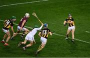 14 November 2020; Richie Hogan of Kilkenny shoots to score his side's first goal during the Leinster GAA Hurling Senior Championship Final match between Kilkenny and Galway at Croke Park in Dublin. Photo by Harry Murphy/Sportsfile