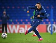 14 November 2020; Adam Idah during a Republic of Ireland training session at Cardiff City Stadium in Cardiff, Wales. Photo by Stephen McCarthy/Sportsfile