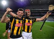 14 November 2020; Eoin Cody, left, and Cillian Buckley of Kilkenny celebrate after the Leinster GAA Hurling Senior Championship Final match between Kilkenny and Galway at Croke Park in Dublin. Photo by Ray McManus/Sportsfile