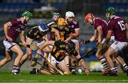 14 November 2020; Corner back Conor Delaney of Kilkenny wins possession during the Leinster GAA Hurling Senior Championship Final match between Kilkenny and Galway at Croke Park in Dublin. Photo by Ray McManus/Sportsfile