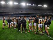 14 November 2020; Kilkenny players relax on the field after the Leinster GAA Hurling Senior Championship Final match between Kilkenny and Galway at Croke Park in Dublin. Photo by Ray McManus/Sportsfile