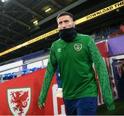 14 November 2020; Matt Doherty during a Republic of Ireland training session at Cardiff City Stadium in Cardiff, Wales. Photo by Stephen McCarthy/Sportsfile