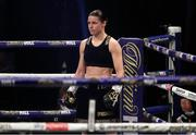 14 November 2020; Katie Taylor during her Undisputed Female Lightweight Championship bout against Miriam Gutierrez at SSE Wembley Arena in London, England. Photo by Mark Robinson / Matchroom Boxing via Sportsfile