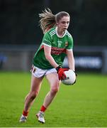 14 November 2020; Sinéad Cafferky of Mayo during the TG4 All-Ireland Senior Ladies Football Championship Round 3 match between Armagh and Mayo at Parnell Park in Dublin. Photo by Sam Barnes/Sportsfile