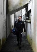 15 November 2020; Shane Walsh of Galway arrives ahead of the Connacht GAA Football Senior Championship Final match between Galway and Mayo at Pearse Stadium in Galway. Photo by Ramsey Cardy/Sportsfile