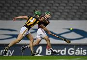 14 November 2020; Brian Concannon of Galway in action against Tommy Walsh of Kilkenny during the Leinster GAA Hurling Senior Championship Final match between Kilkenny and Galway at Croke Park in Dublin. Photo by Seb Daly/Sportsfile
