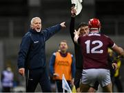 14 November 2020; Galway manager Shane O'Neill during the Leinster GAA Hurling Senior Championship Final match between Kilkenny and Galway at Croke Park in Dublin. Photo by Seb Daly/Sportsfile