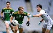 15 November 2020; Shane Walsh of Meath in action against Mick O'Grady of Kildare during the Leinster GAA Football Senior Championship Semi-Final match between Kildare and Meath at Croke Park in Dublin. Photo by Piaras Ó Mídheach/Sportsfile
