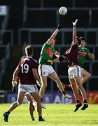 15 November 2020; Paul Kelly of Galway in action against Eoghan McLaughlin of Mayo during the Connacht GAA Football Senior Championship Final match between Galway and Mayo at Pearse Stadium in Galway. Photo by David Fitzgerald/Sportsfile