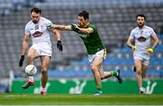 15 November 2020; Fergal Conway of Kildare in action against Donal Keogan of Meath during the Leinster GAA Football Senior Championship Semi-Final match between Kildare and Meath at Croke Park in Dublin. Photo by Piaras Ó Mídheach/Sportsfile