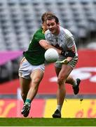 15 November 2020; Con Kavanagh of Kildare is tackled by Shane Walsh of Meath during the Leinster GAA Football Senior Championship Semi-Final match between Kildare and Meath at Croke Park in Dublin. Photo by Eóin Noonan/Sportsfile