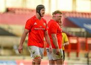 15 November 2020; Jean Kleyn and Stephen Archer of Munster during the Guinness PRO14 match between Munster and Ospreys at Thomond Park in Limerick. Photo by Diarmuid Greene/Sportsfile
