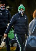 15 November 2020; Aaron Gillane of Limerick arrives prior to the Munster GAA Hurling Senior Championship Final match between Limerick and Waterford at Semple Stadium in Thurles, Tipperary. Photo by Brendan Moran/Sportsfile